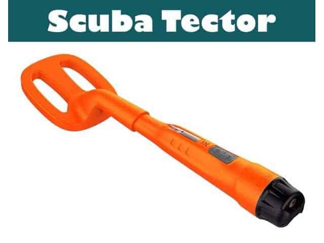 Deteknix Scuba Tector onderwater metaal detector
